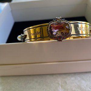 Alexander McQueen Arm Jeweled Cuff